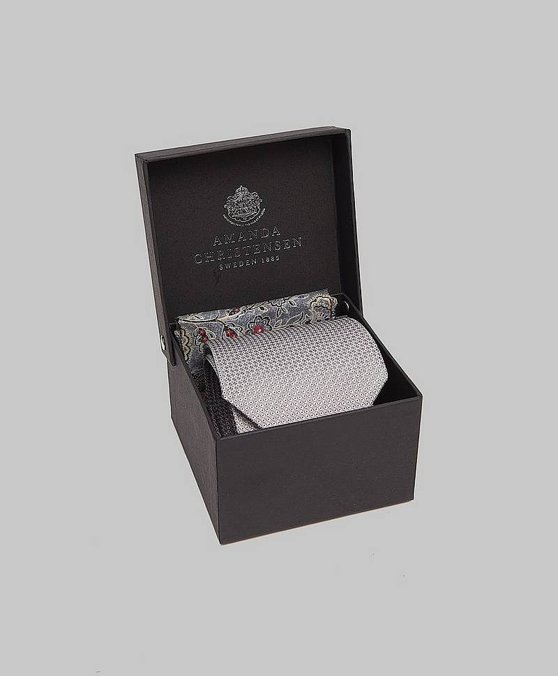 Tie & Hankie Box Set Sky blue