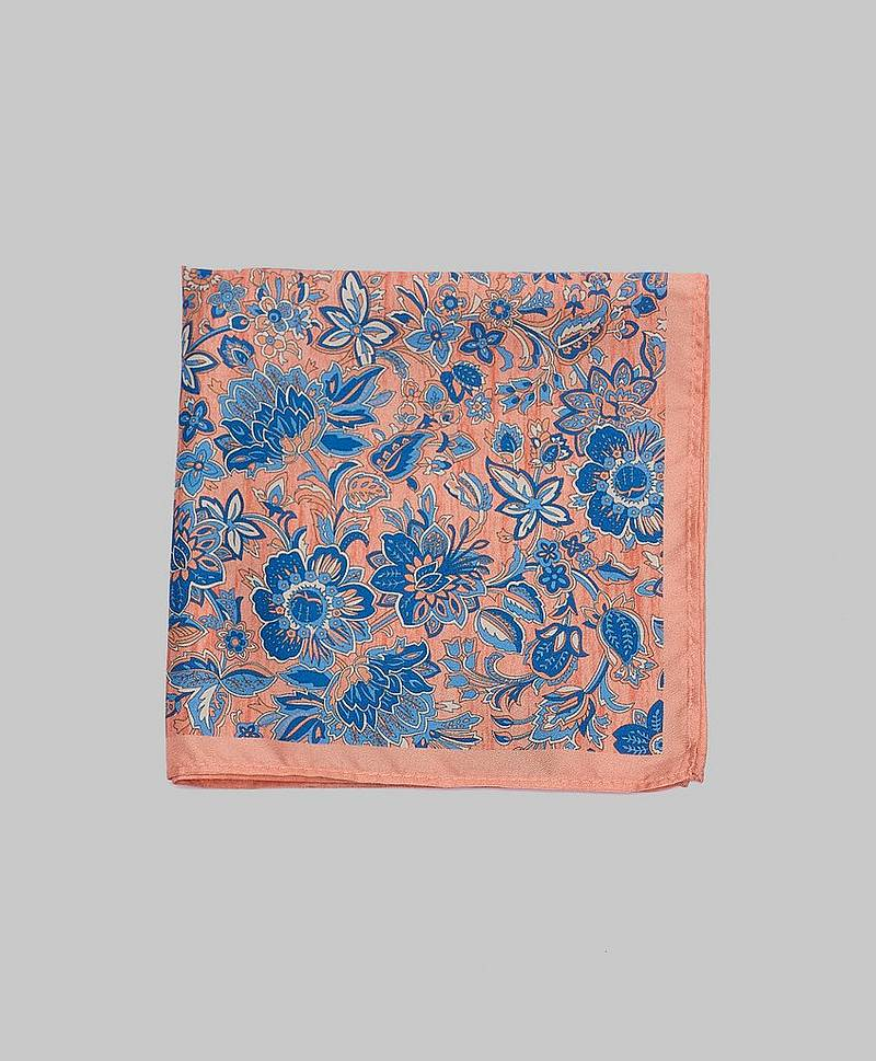 Pocket Square Peach