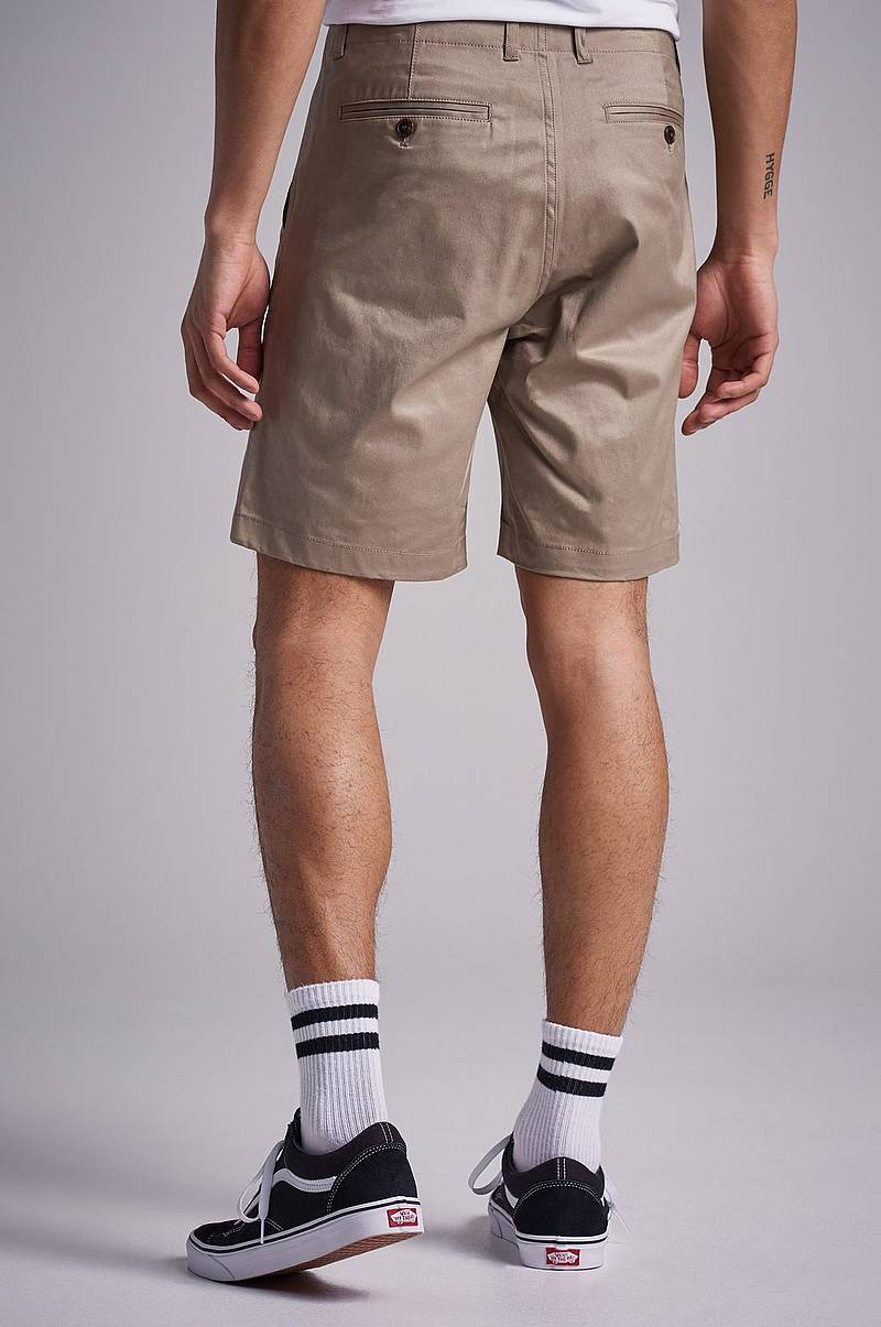 College Shorts Khaki