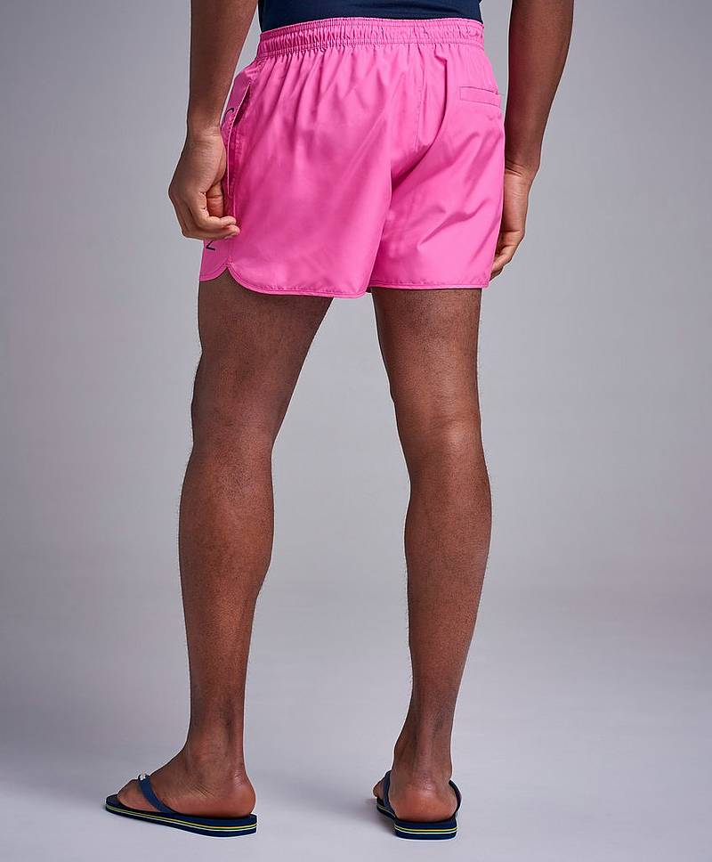 Short Runner Logo Pink