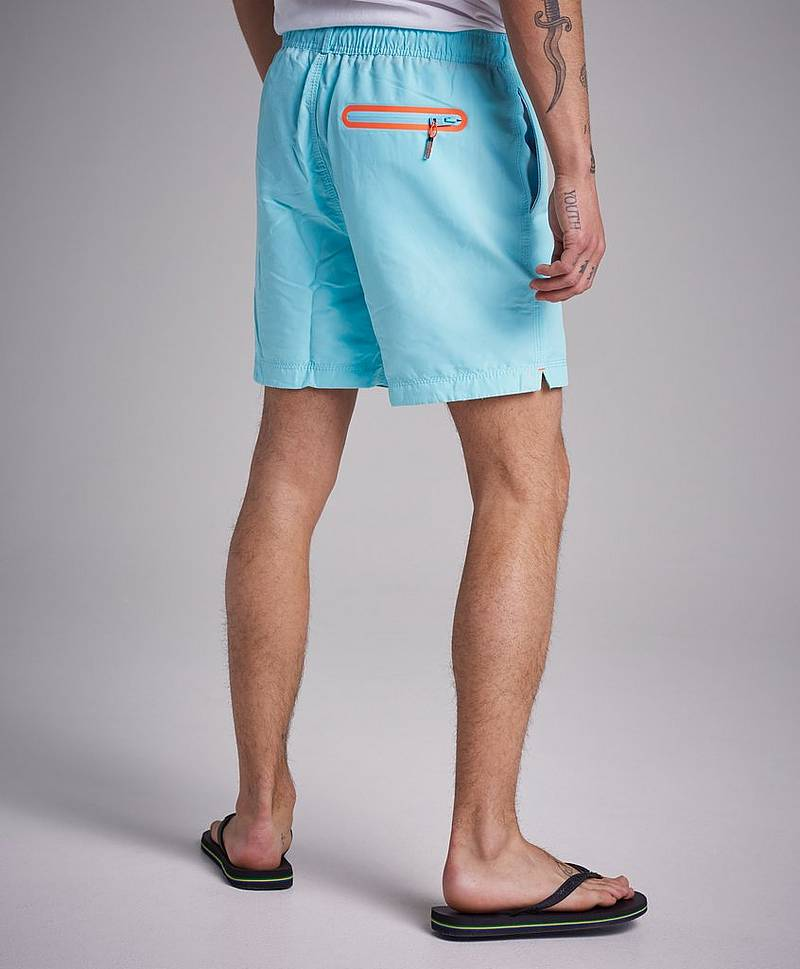 Waterpolo Swinshorts Q2R Light Lagun Blue
