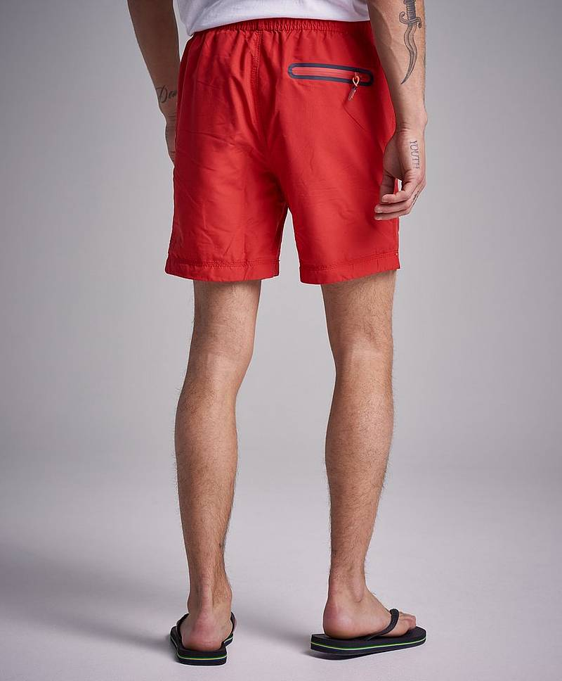 Waterpolo Swinshorts OZL Flagg Red