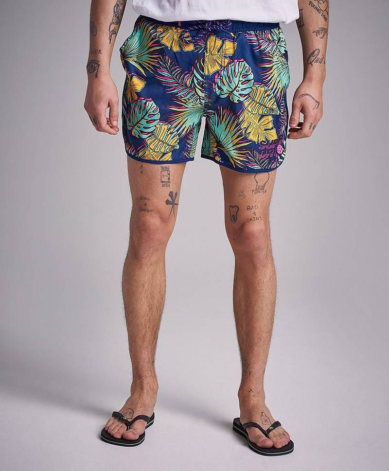 Echo Racer Swim Q2A Tropical Leaf