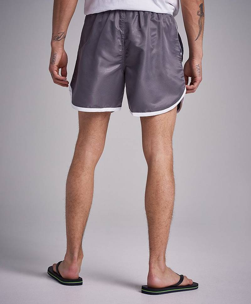 Badshorts St Paul Long Bermuda Shorts Grey/White