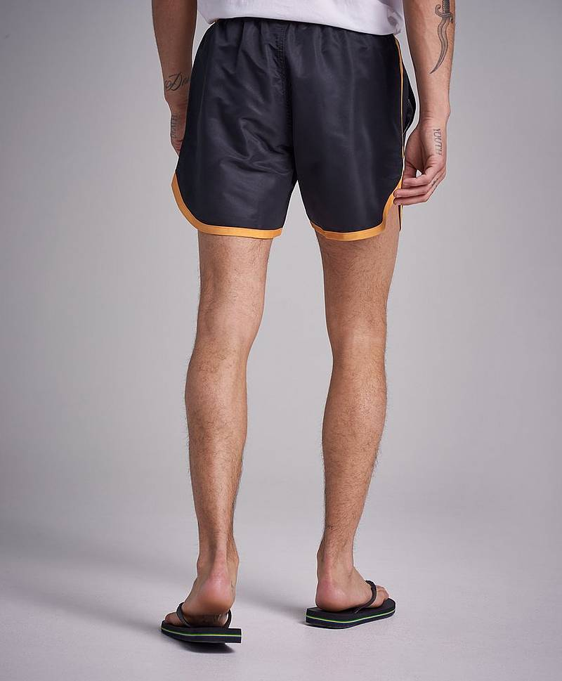 St Paul Long Bermuda Shorts Grey/White