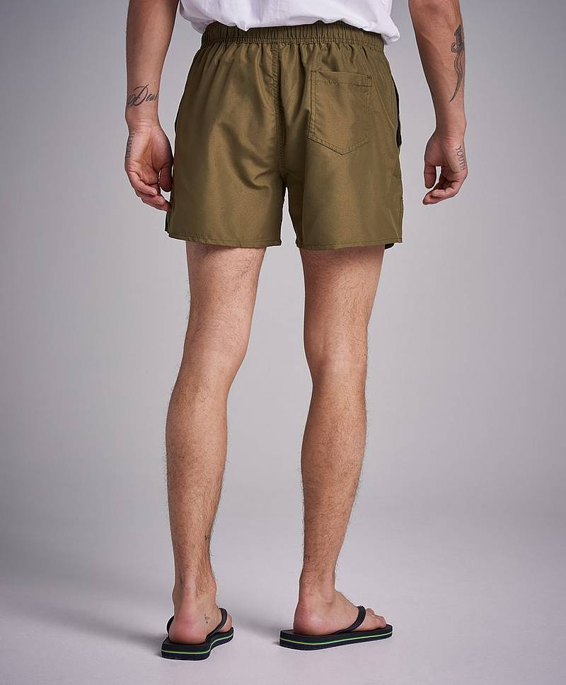 Badshorts Breeze Long Swim Shorts Military