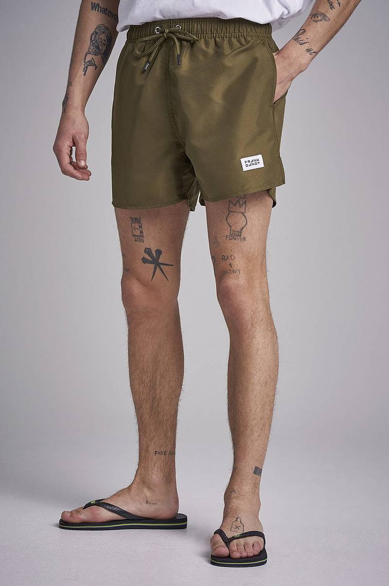 Breeze Long Swim Shorts Military