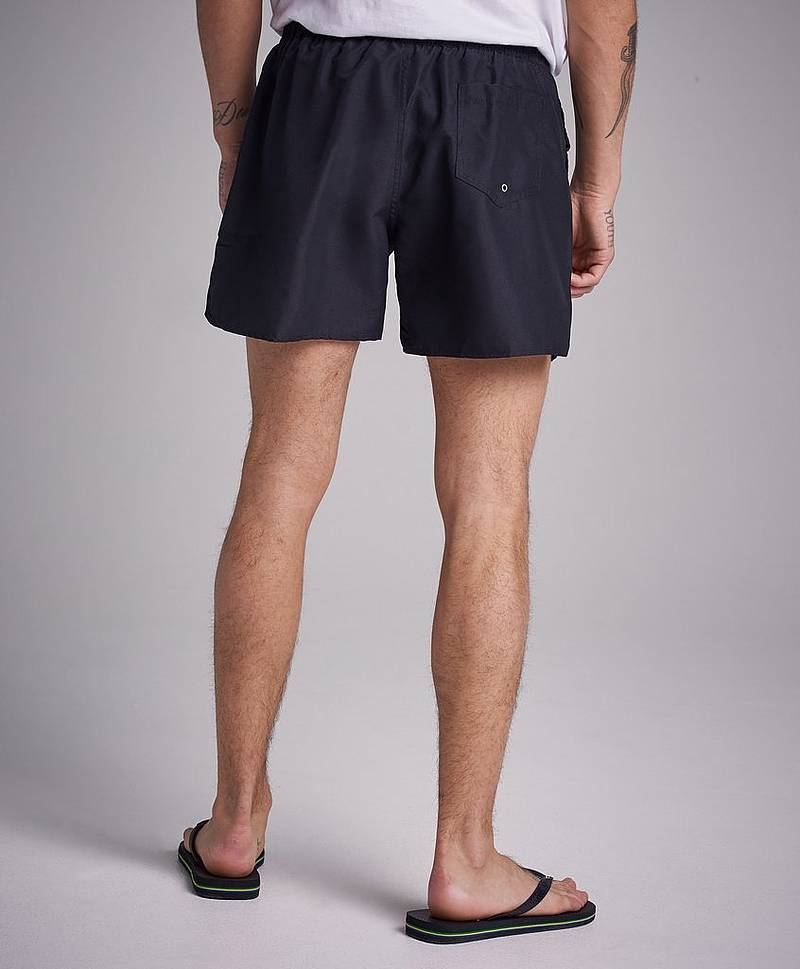 Breeze Risky Rose Swim Shorts Black