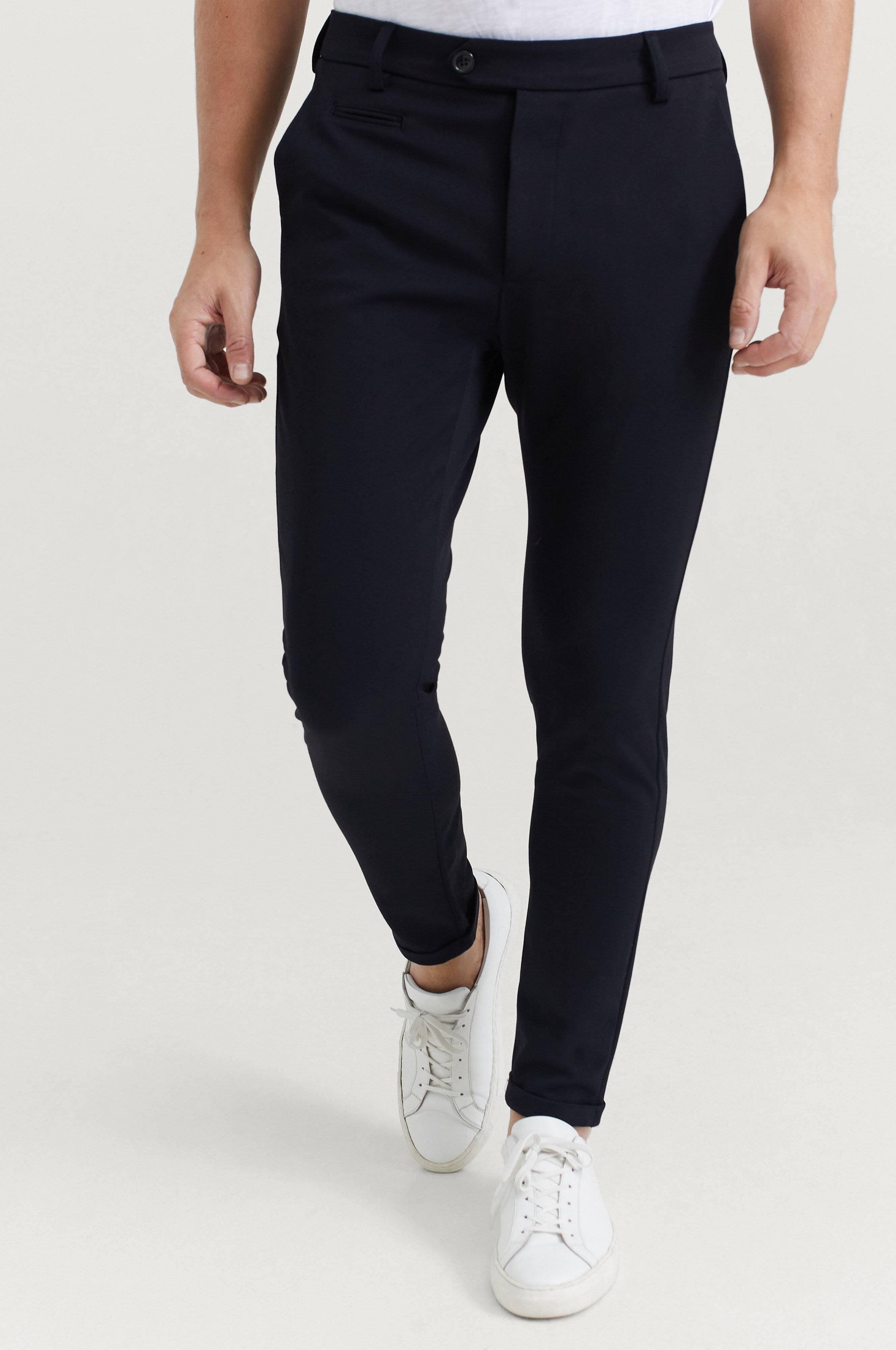 Les Deux Como Suit Pants Byxor Navy
