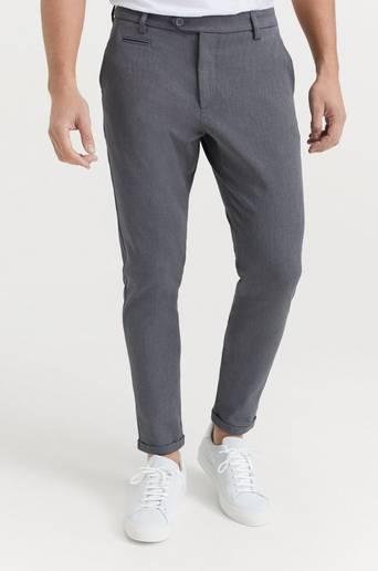 Les Deux Byxor Como Suit Pants Grå