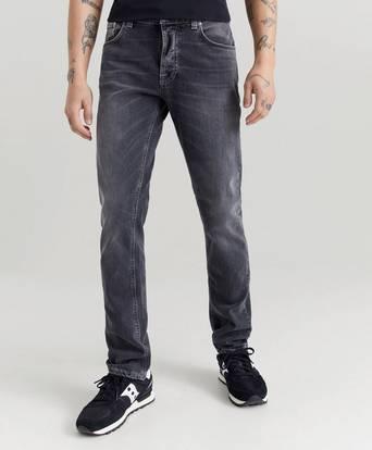 Nudie Jeans Jeans Grim Tim Shimmering Grå