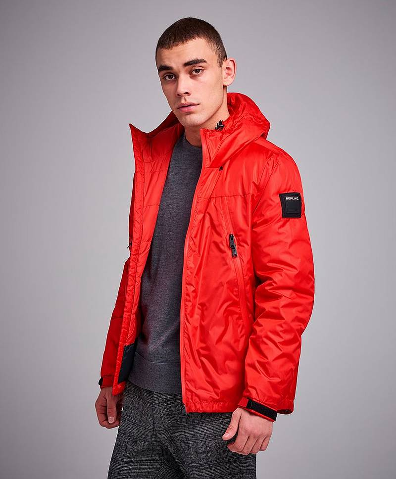 RBJ Duck Free Down Jacket Ruby Red