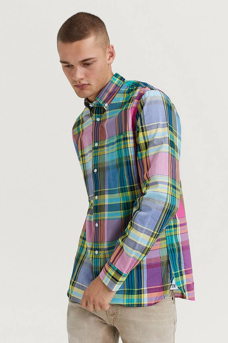 Skjorte Large Madras Check Shirt Check