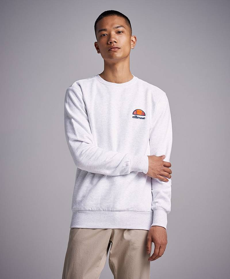 Sweatshirt Diveria White Marl