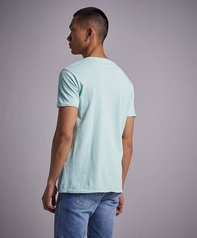 RBJ Logo Washed Tee Mint