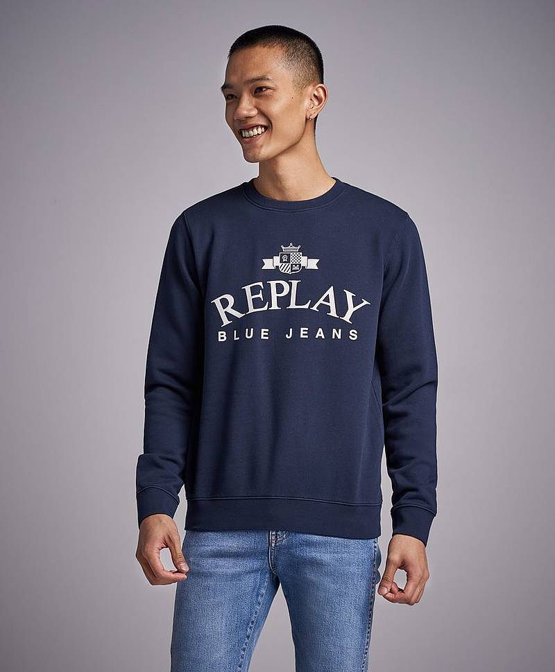 RBJ Original Logo Sweat Navy