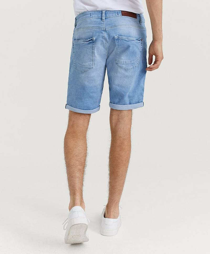 Jason Denim Short RS1176 Light Destroyd