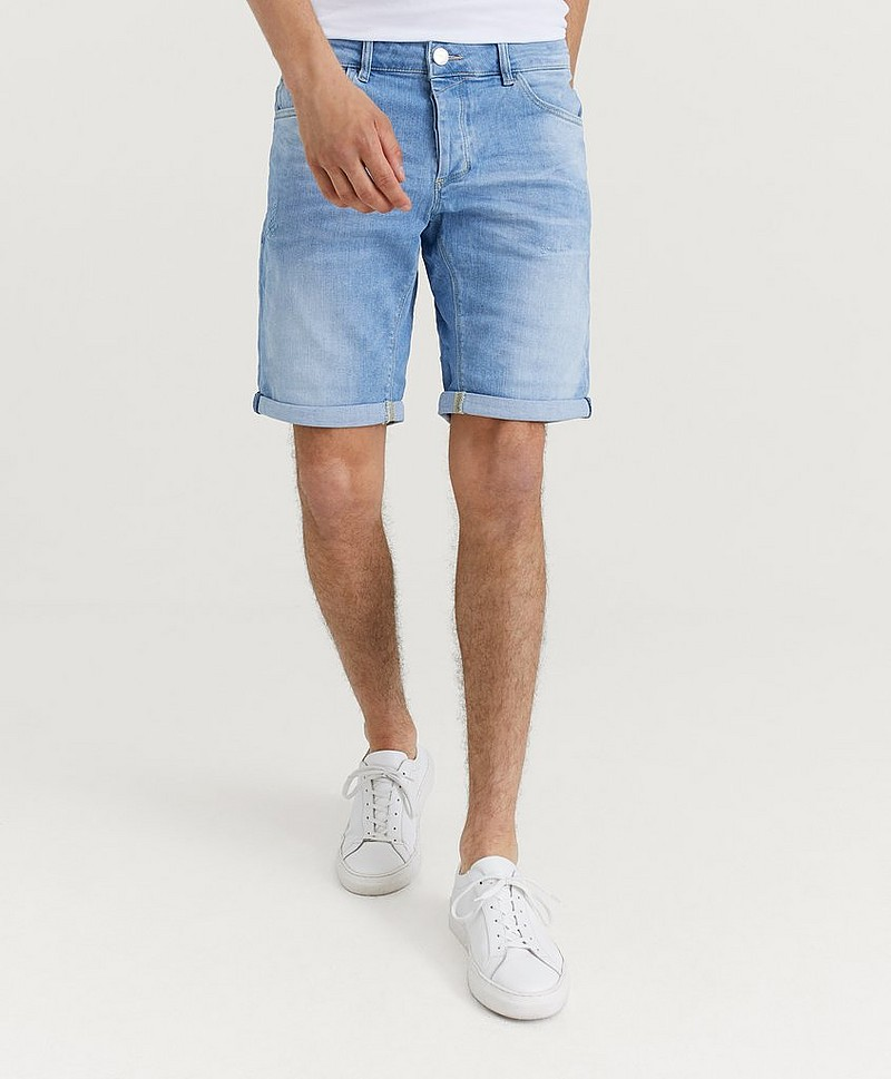 Farkkushortsit Jason Denim Short RS1176 Light Destroyd