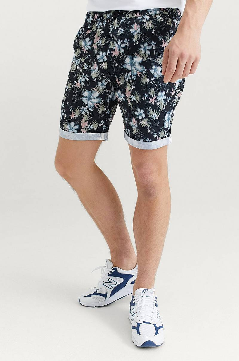 Shorts Borian Blue Jungle