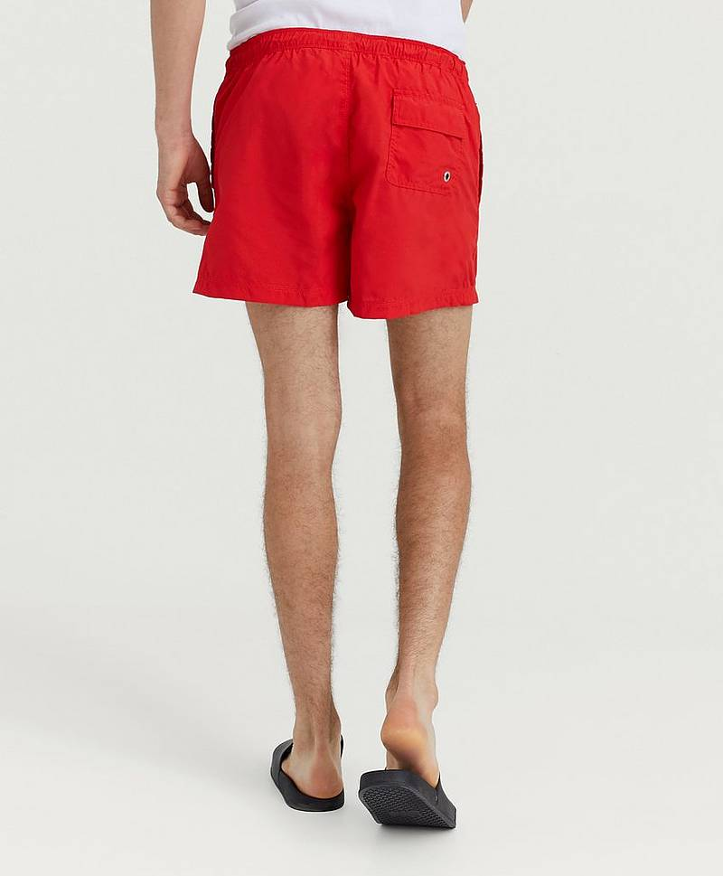 Badeshorts Bowman Volley Bright Red