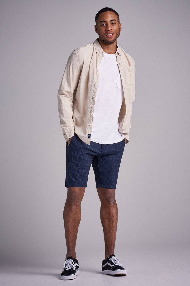 Jason Shorts Navy Pin