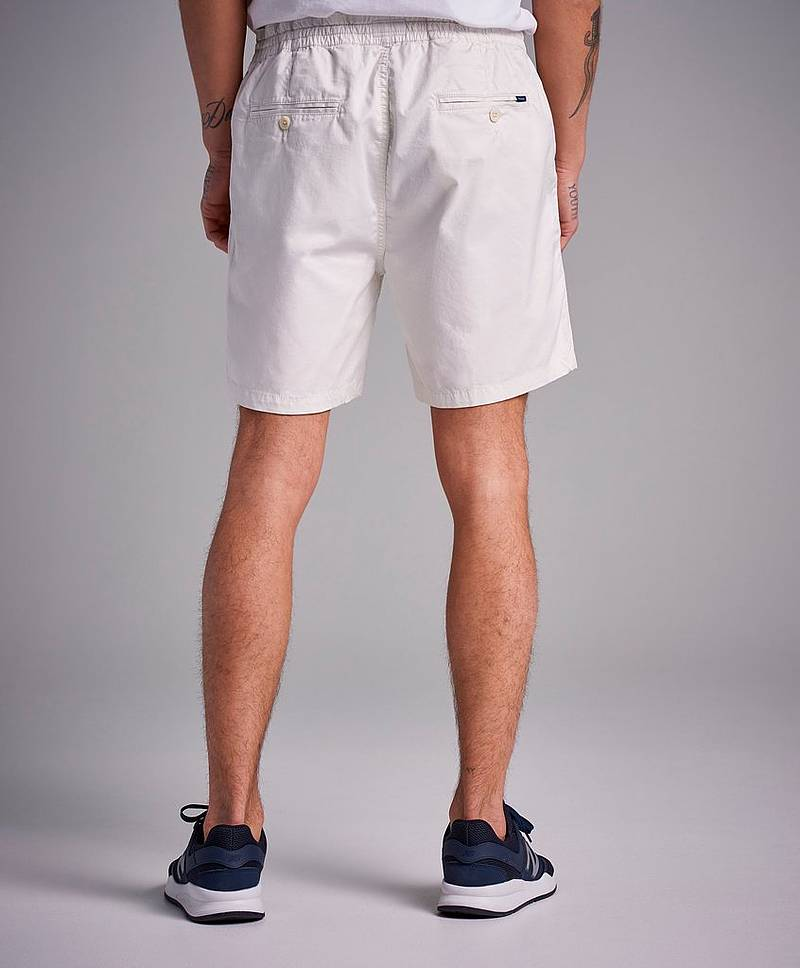 Relaxed Embroidered Shorts