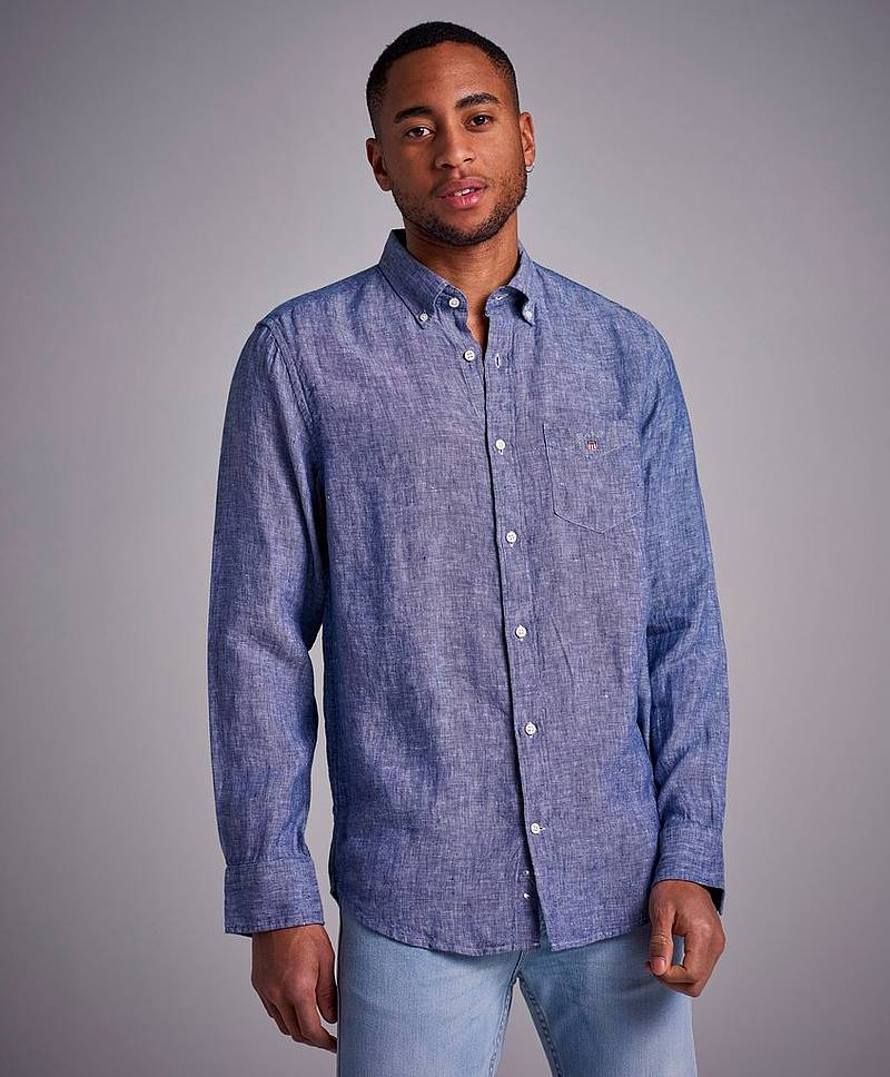 The Linen Shirt Reg BD