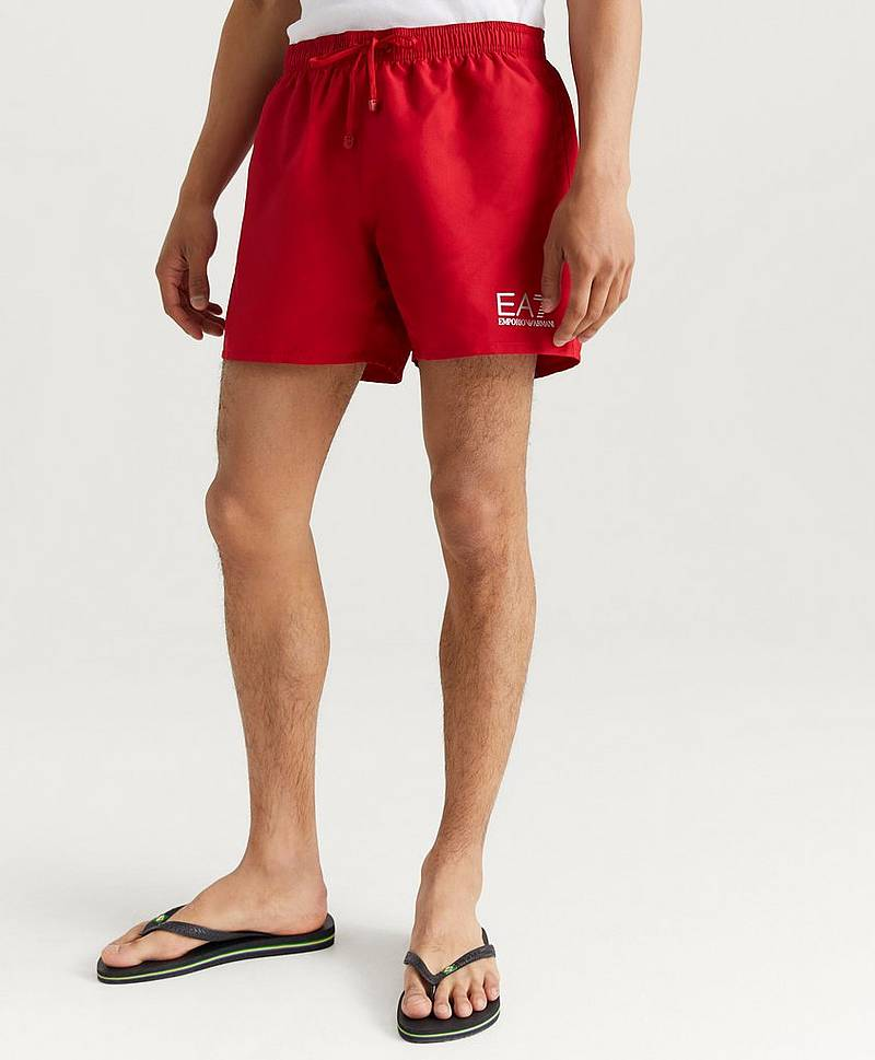 Badeshorts Sea Worl Swimshorts Tango Red