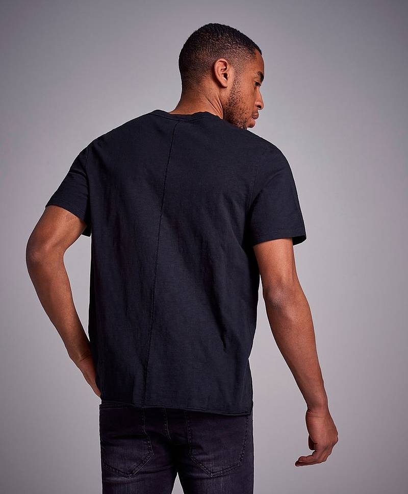 Bass Slubb Tee Black