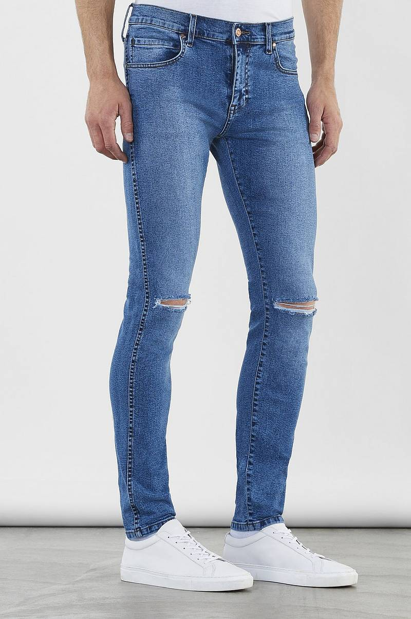 Jeans Snap Worn
