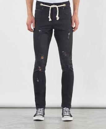 Somewear Jeans Echo Destroyd Z - Blue Svart