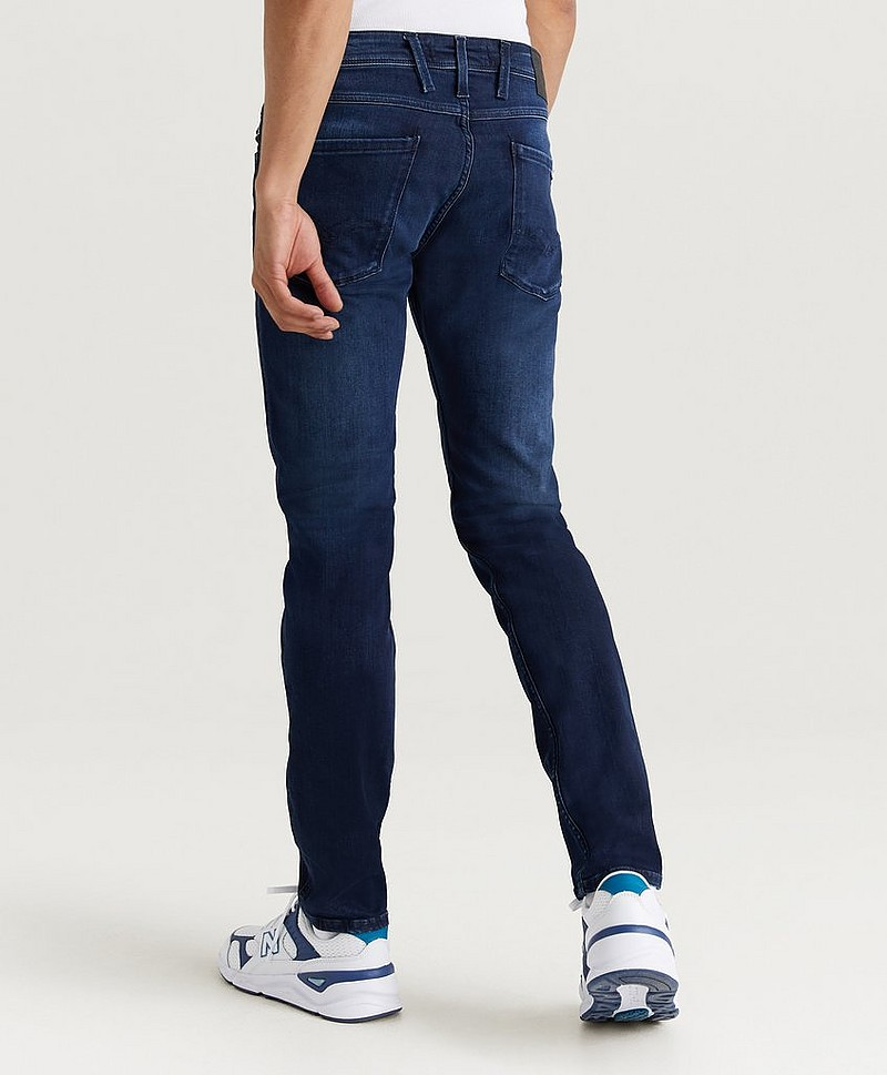 Jeans Anbass Power Stretch Dark Blue