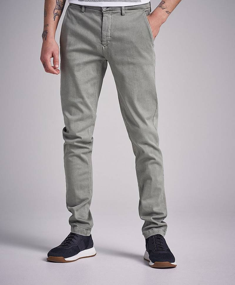 Chinos Zeumar Hyperfelx Green