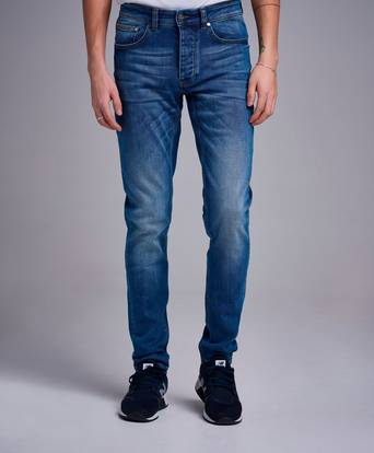 The Blue Uniform Jeans Cricket No 2 Blå