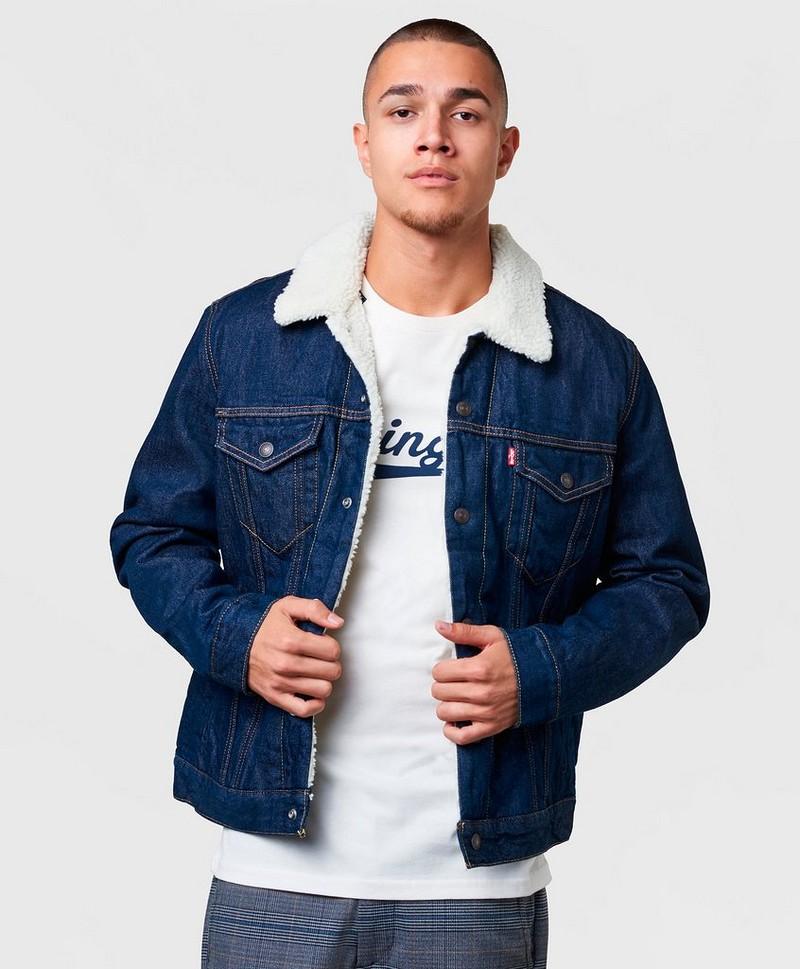 Levi's® TYPE 3 SHERPA TRUCKER Jeansjakke rockridge