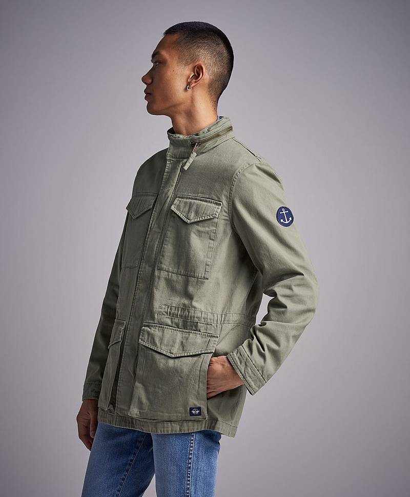 Vintage Field Jacket Depp Lichen Green