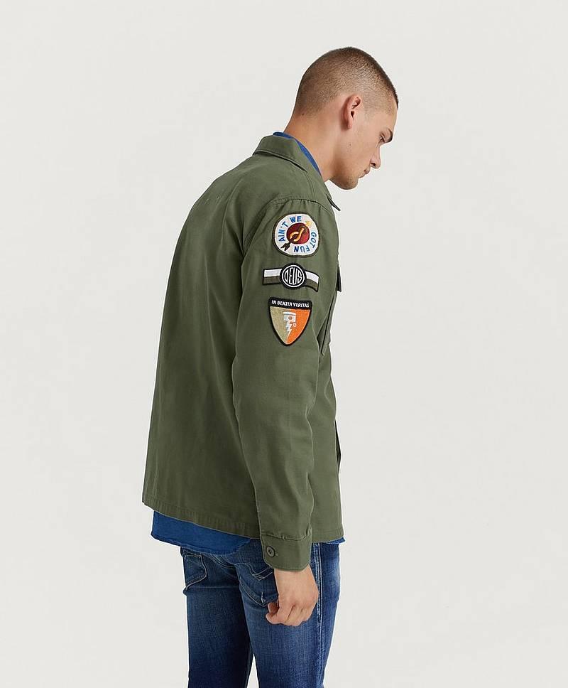 8b8214d9 Monty Overshirt JKT Clover