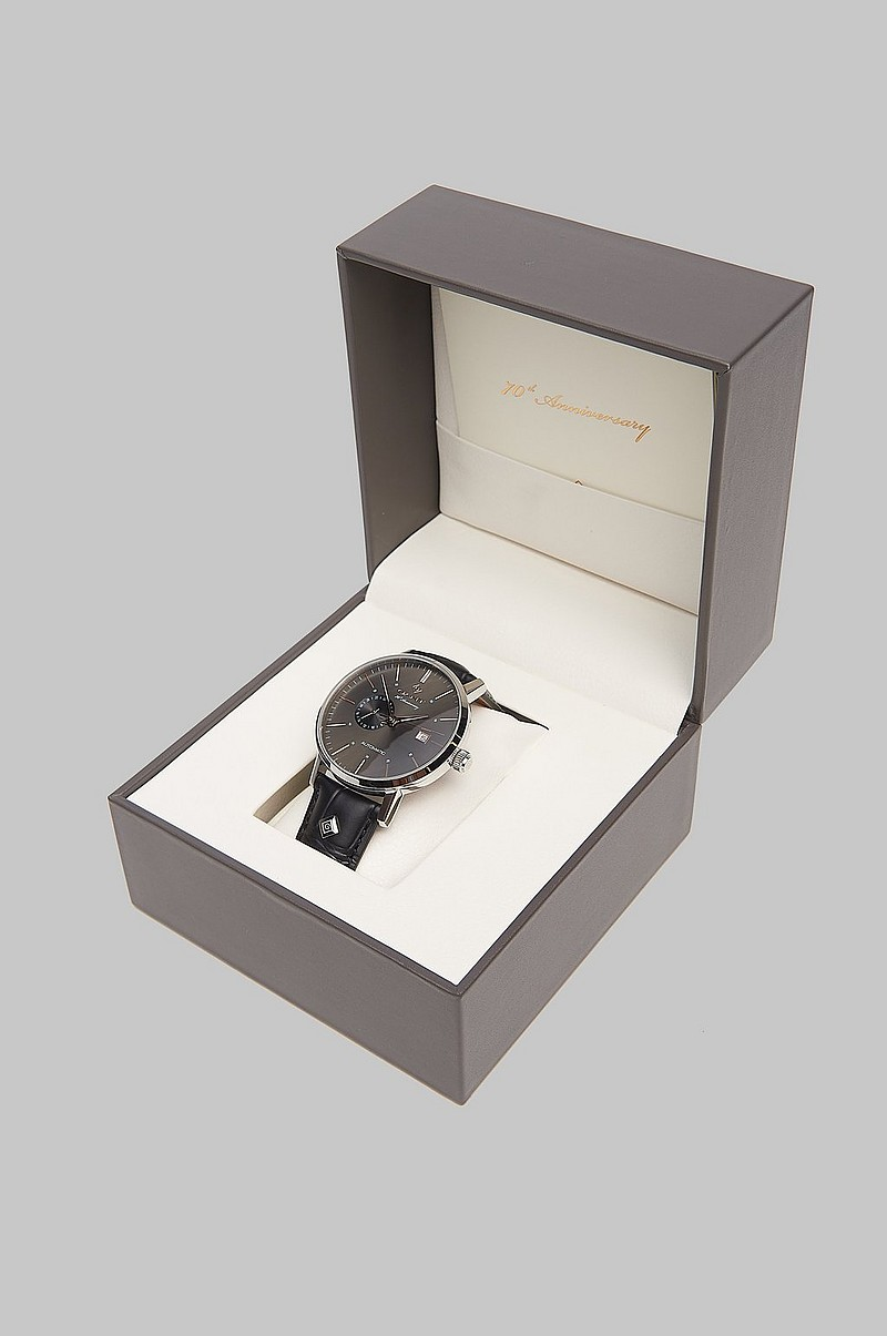 Klokke Park Hill Automatic Black/Grey