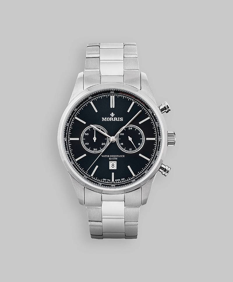 Charles Chrono M0505 Black/Metal