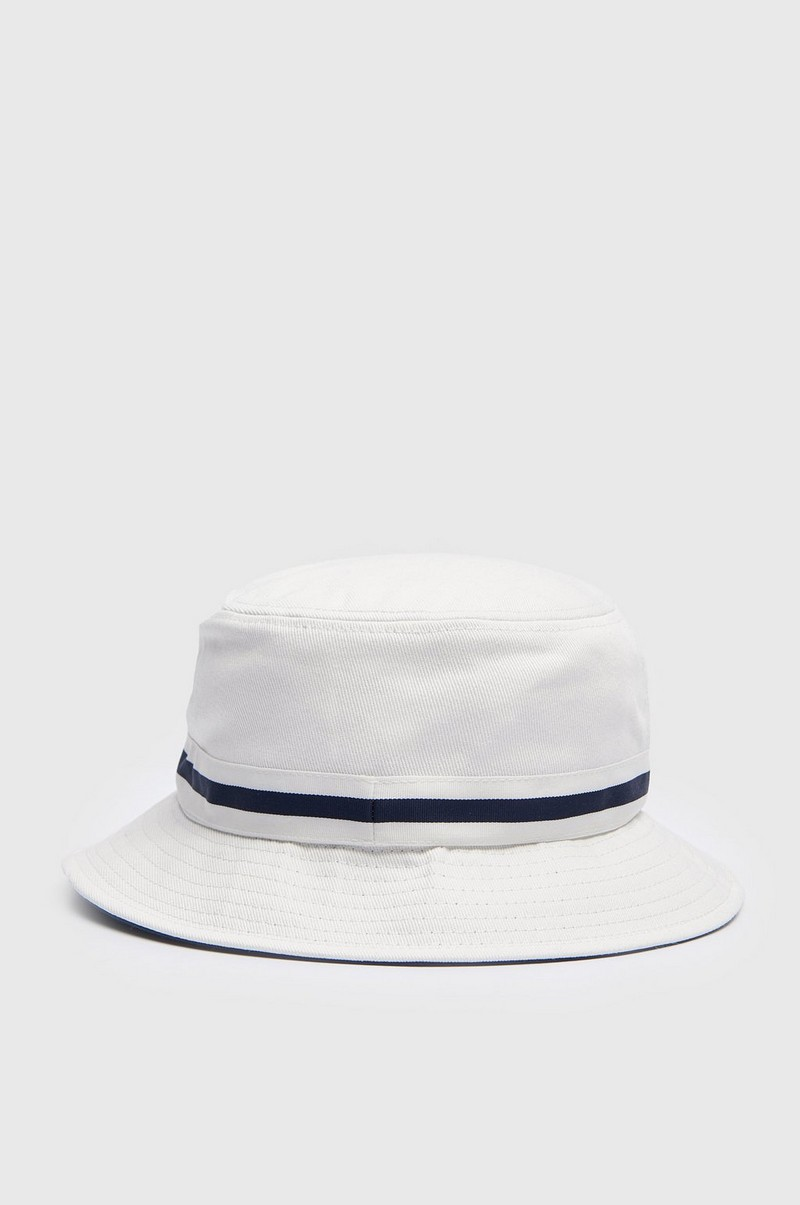 Hatt Stripe Lahinch Bucket White