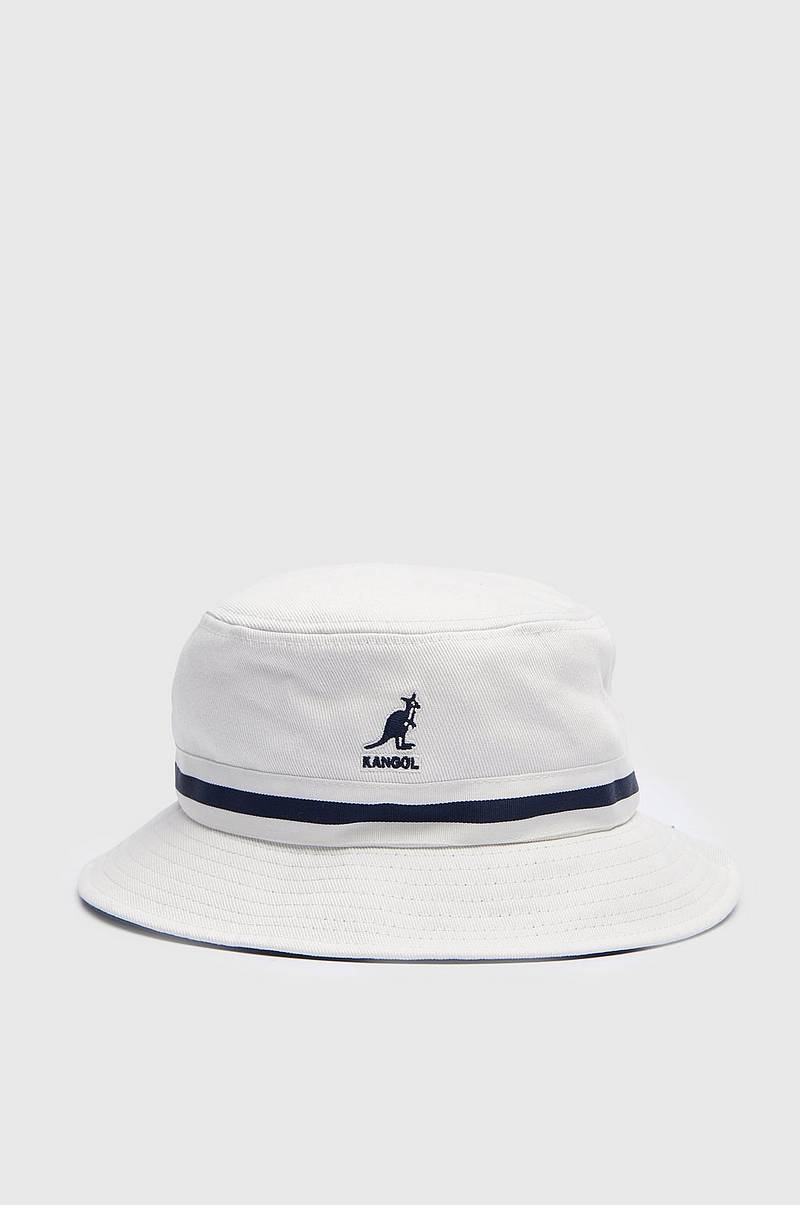 Hat Stripe Lahinch Bucket White