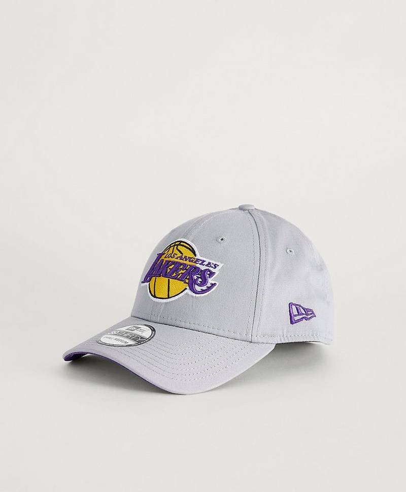 Caps 39Thirty NBA Team Lakers Gray
