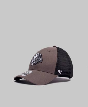 Bilde av 47 Brand Caps Nhl New York Rangers Grim Dark Grey Grå