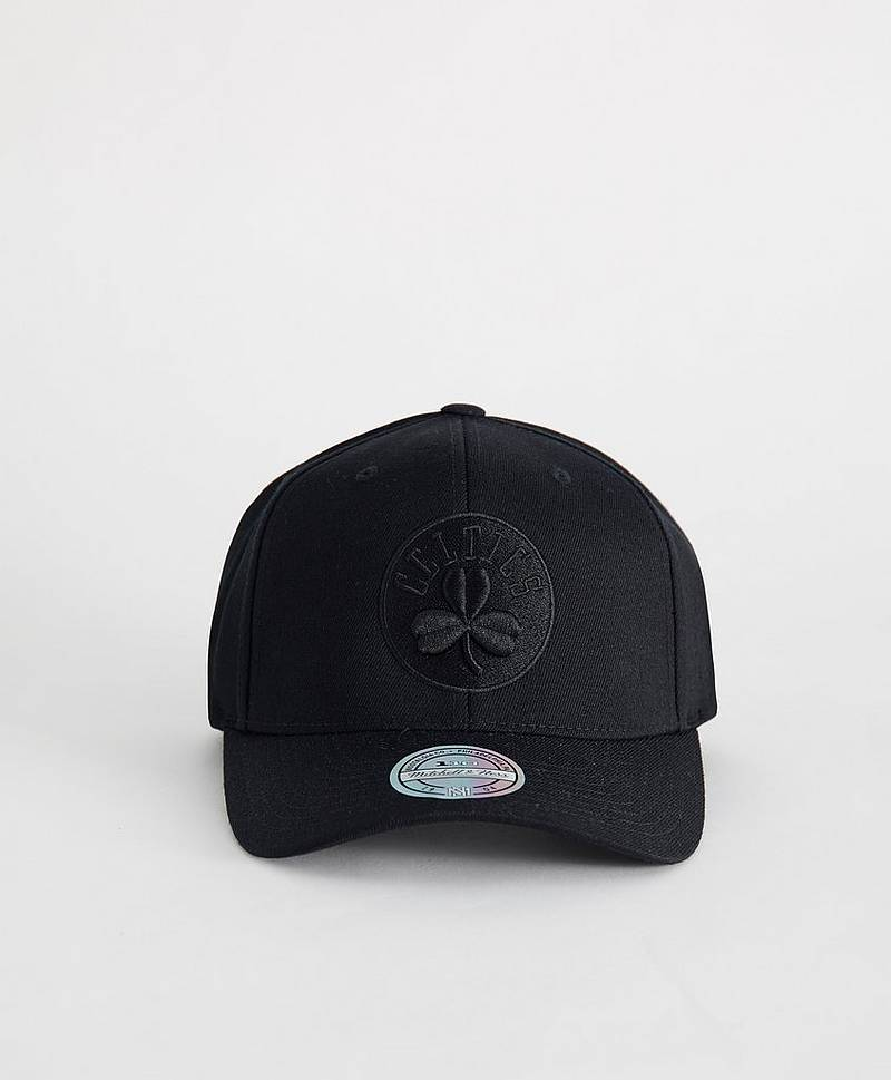 Black on Black Snapback Boston Celtics Black