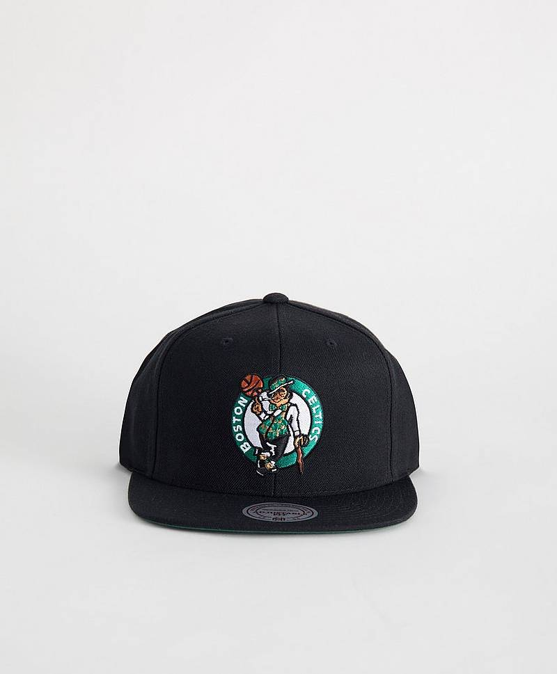 Wool Solid Snapback Chicago Bulls Black