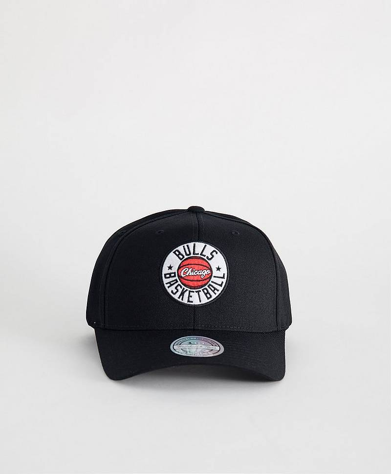 Full Court Patch Snapback Chicago Black