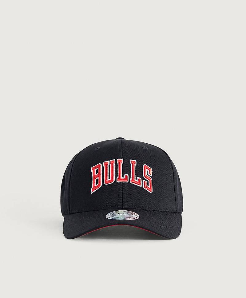 Kasket Courtside 2 Snapback Bulls Black