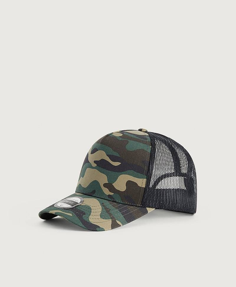 Reed Baseball Trucker 9799 Camo/Black