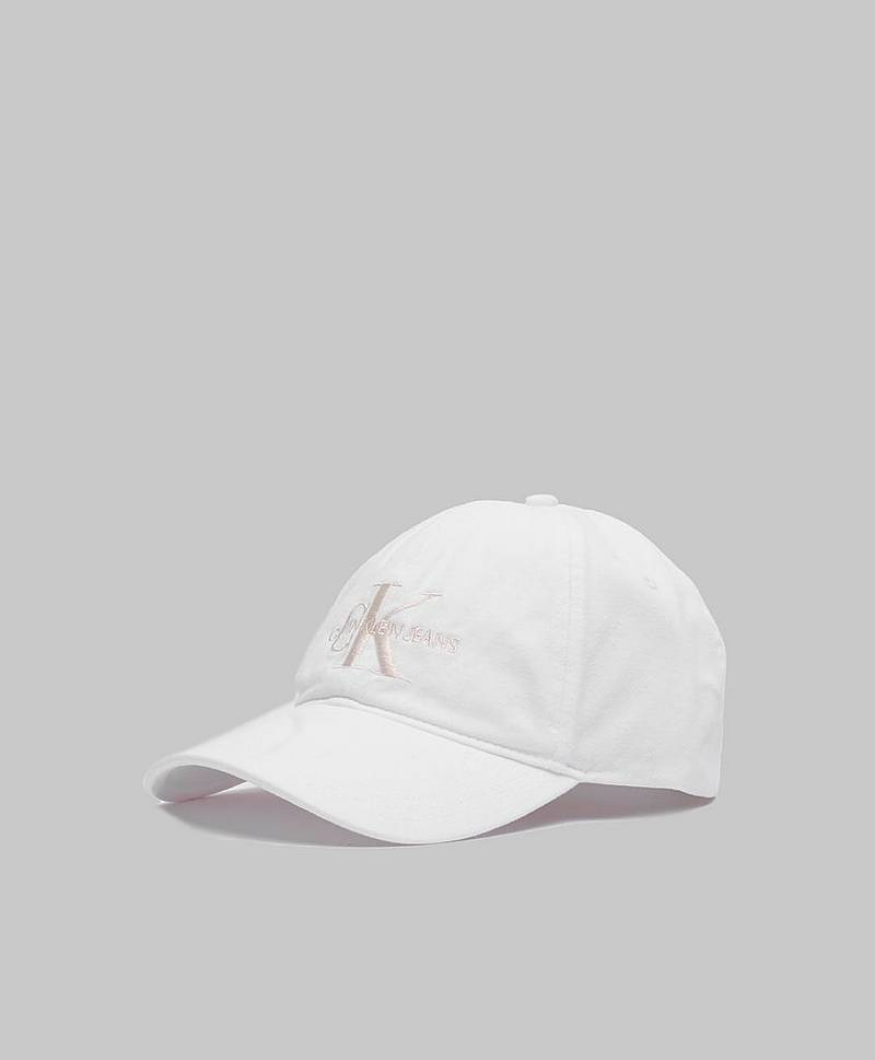 Monogram Cap White