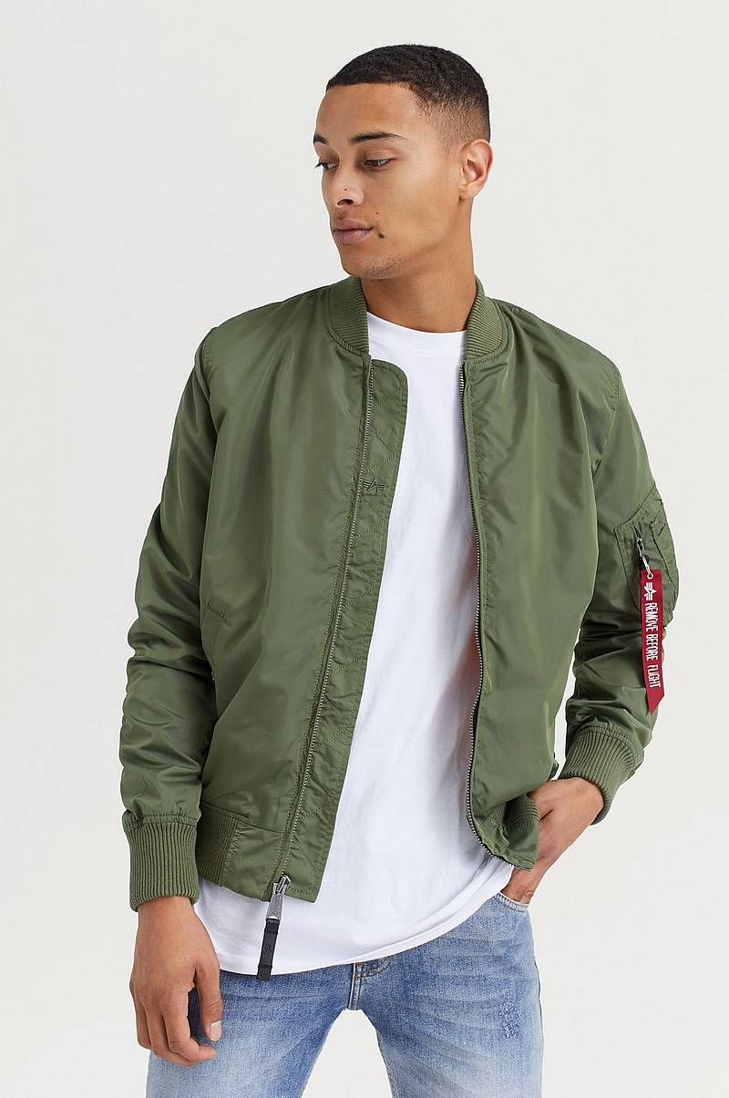 Best pris på Alpha Industries Teddy Jacket (Herre) Jakker